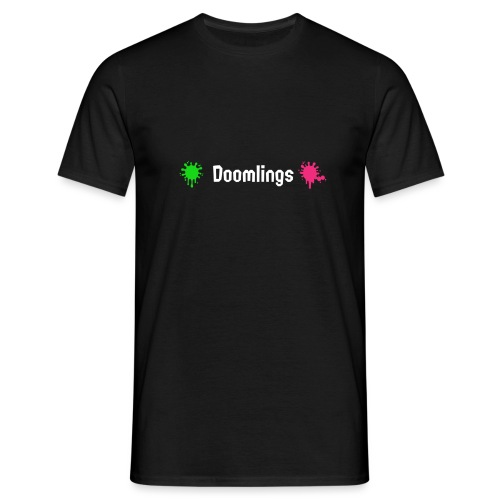 Doomlings Splat Banner - Men's T-Shirt