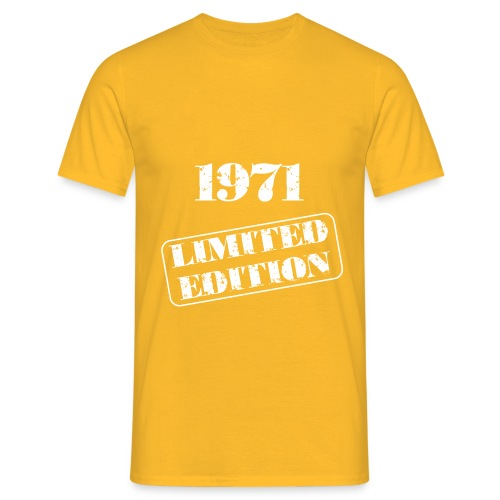 Limited Edition 1971 - Männer T-Shirt