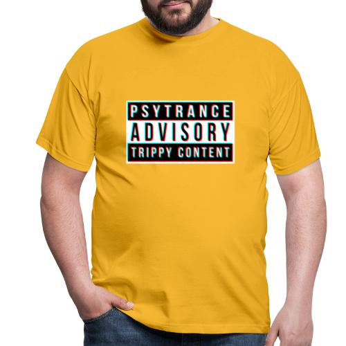 Psytrance - Men's T-Shirt