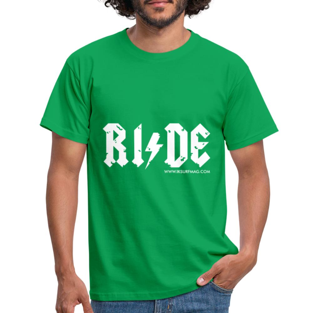 RIDE - Men's T-Shirt - kelly green