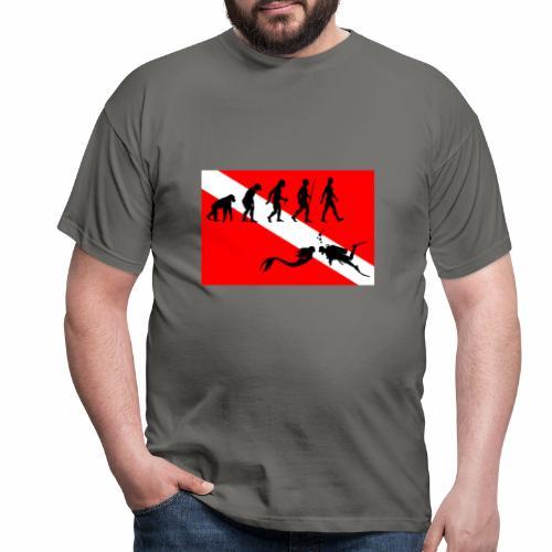 Scuba Evolution - Men's T-Shirt