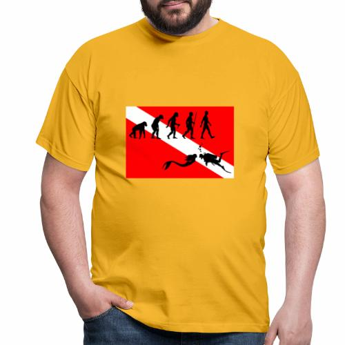 Scuba Evolution - Men's T-Shirt