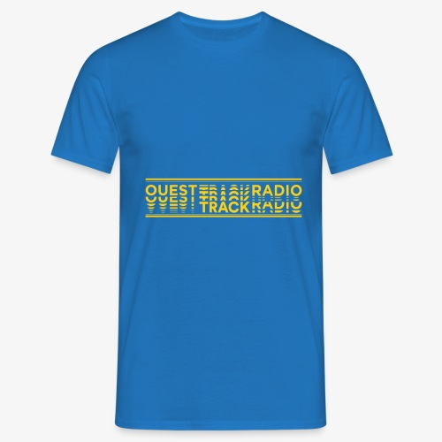 Logo Long jaune - T-shirt Homme