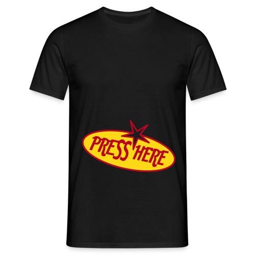 Press here - Männer T-Shirt