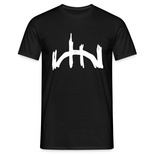 logo blanco recortado sin letras - Männer T-Shirt