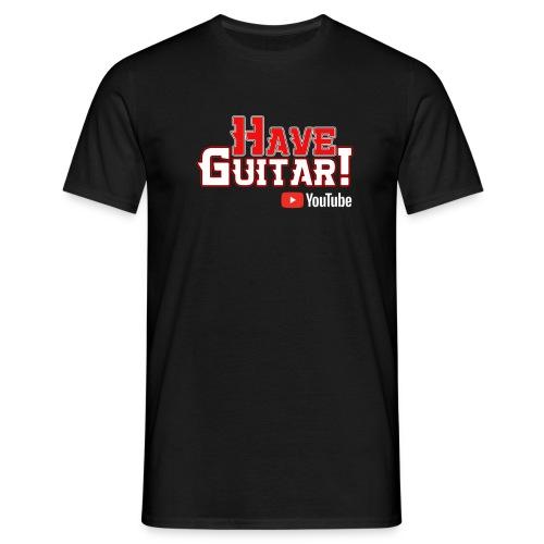 Have Guitar YT-logo - T-shirt herr