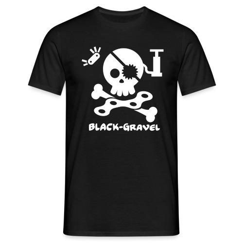 Black Gravel Italia - Maglietta da uomo