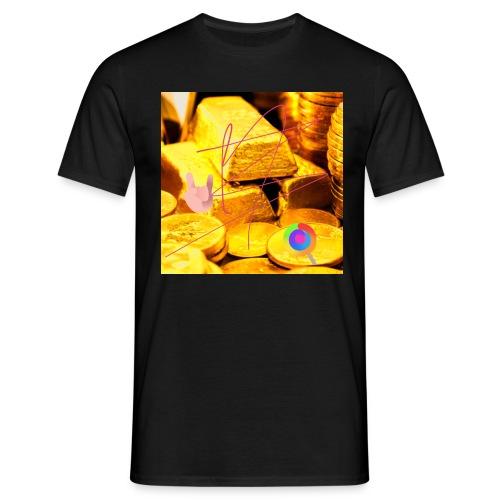 oro nelle vene - Maglietta da uomo