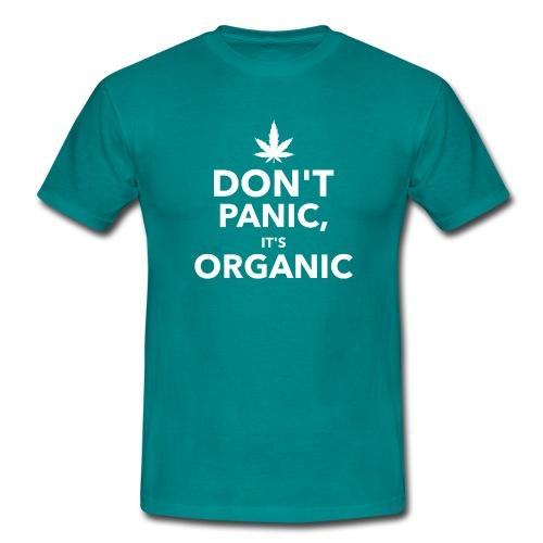 Don't panic it's organic - T-shirt Homme
