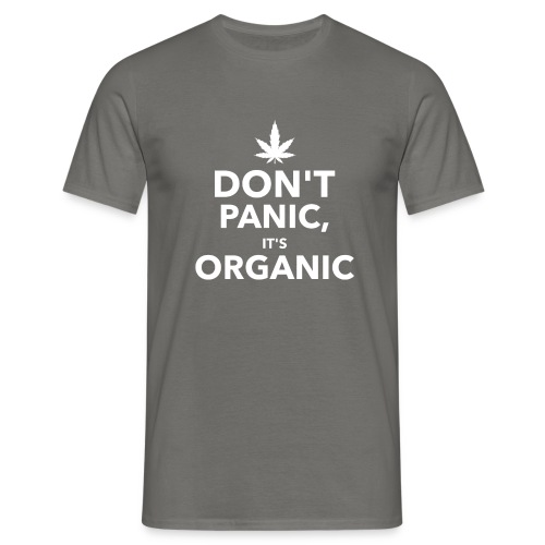 Don't panic it's organic - T-shirt Homme