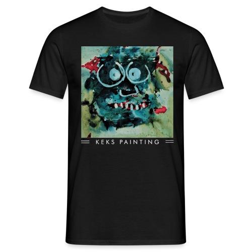 Keks und Brillenmon - Männer T-Shirt
