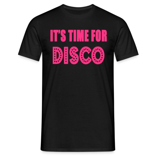ITS TIME FOR DISCO VECTOR - Men's T-Shirt