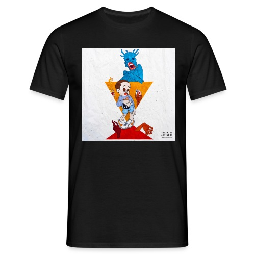 Hard Life 4 Ever - Männer T-Shirt