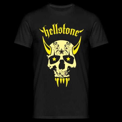Hellstone Scull - Männer T-Shirt