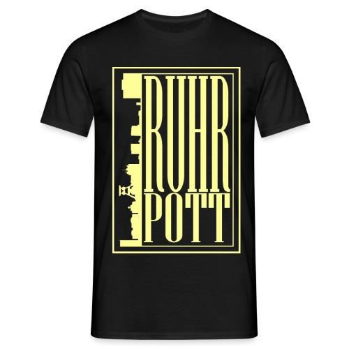 Ruhrpottfinal large trans - Männer T-Shirt