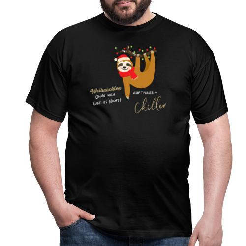 Weihnachten ohne mich gibt es nicht Design - Männer T-Shirt