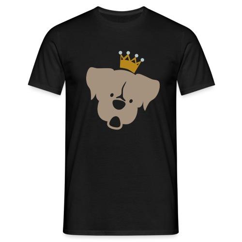 Prinz Poldi braun - Männer T-Shirt