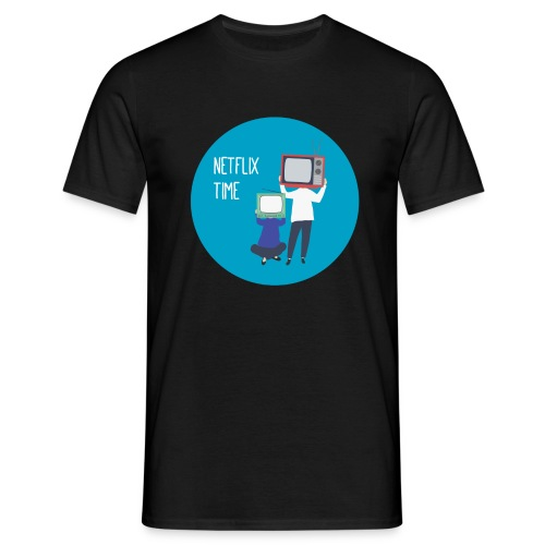 netflix time - Maglietta da uomo