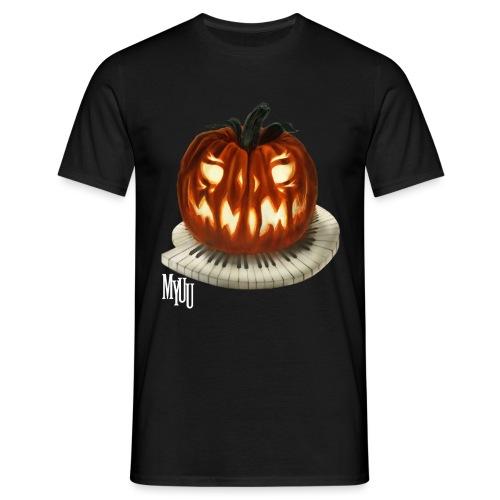 Piano Pumpkin - Männer T-Shirt