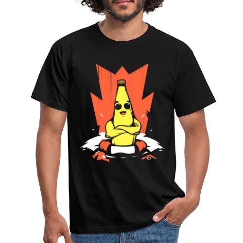 Platano en peligro - Camiseta hombre