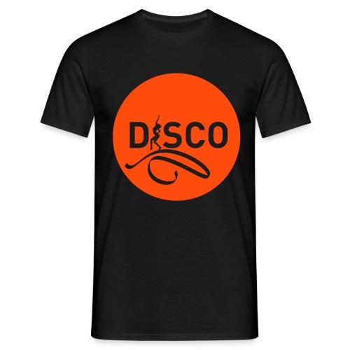 05-disco-pastille-noire - T-shirt Homme