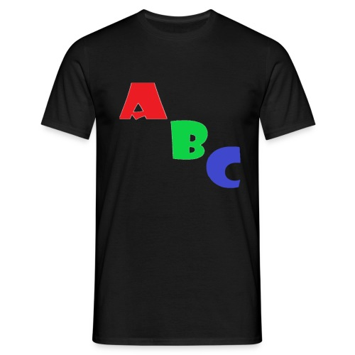 abc - Men's T-Shirt