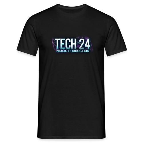 Tech 24 Logo - Men's T-Shirt
