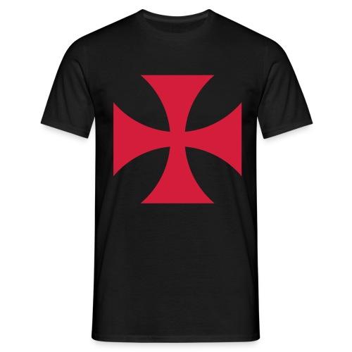 The Templar Cross Shirt - Männer T-Shirt
