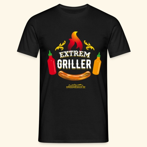Extremgriller - Männer T-Shirt