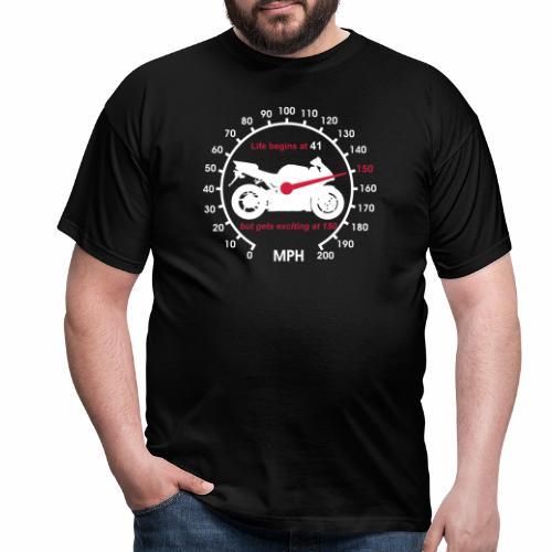 superbike speedo 41 - Men's T-Shirt