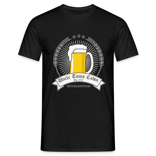 uncle toms logo - Men's T-Shirt