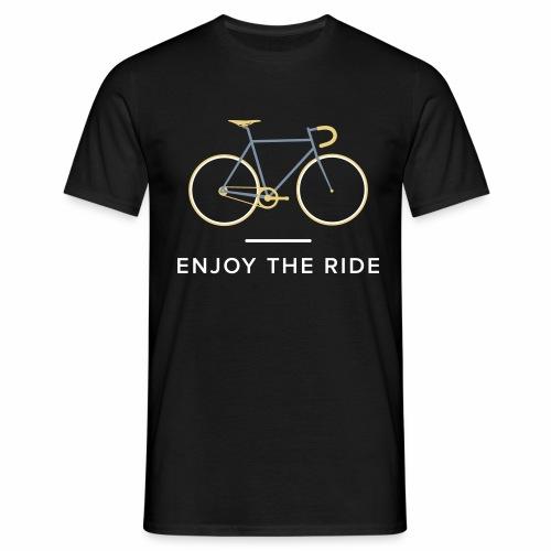 Vintage Racing Bike Retro Cycling T-Shirt - Men's T-Shirt