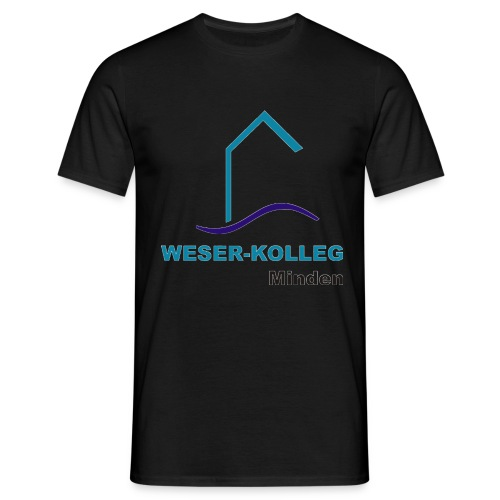wkmlogooutline - Männer T-Shirt