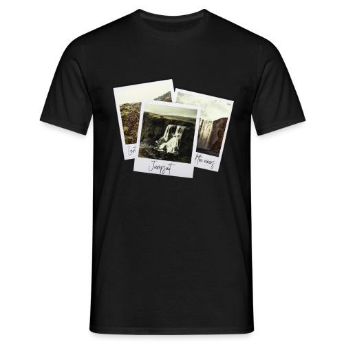 First three singles - Men's T-Shirt