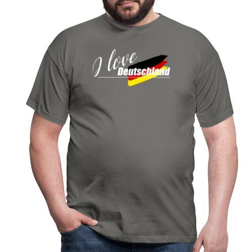 I love Deutschland - Männer T-Shirt