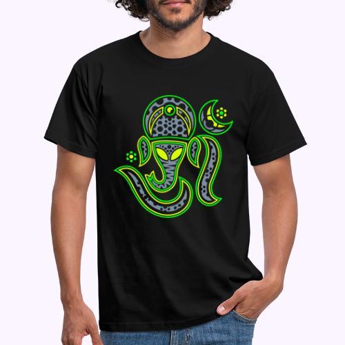 Aum Ganesha 3 Color - Men's T-Shirt