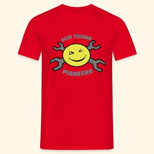 ACID TECHNO PIONEERS - SILVER EDITION - Men's T-Shirt