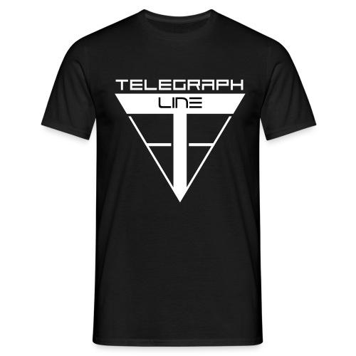 Telegraph Line Logo - Maglietta da uomo
