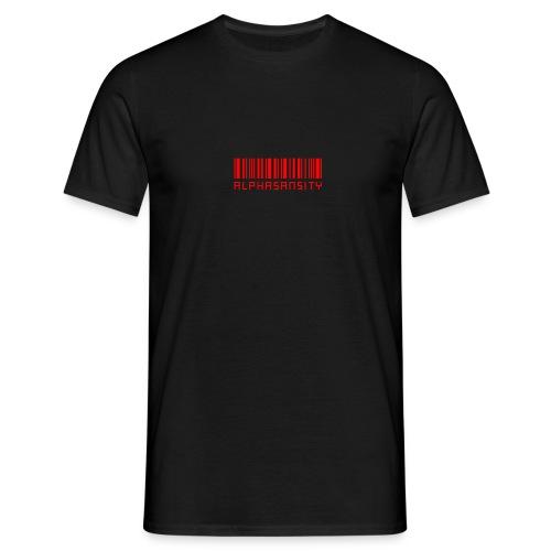 BASS X ALPHASANSITY - Mannen T-shirt