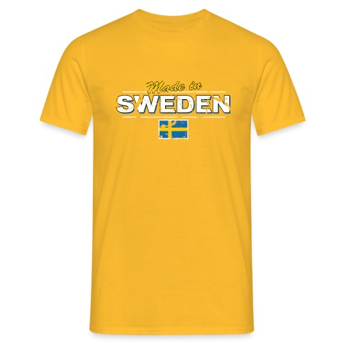MADE IN SWEDEN - Men's T-Shirt