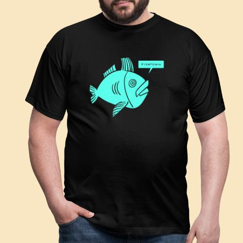 Fishtown Singlefish Motiv 001 - Männer T-Shirt