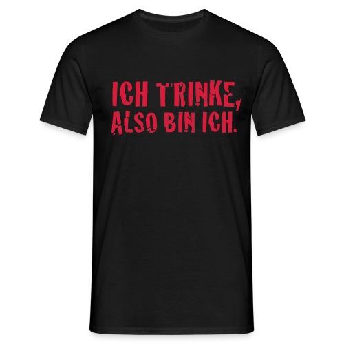 spruchshirt 6 - Männer T-Shirt