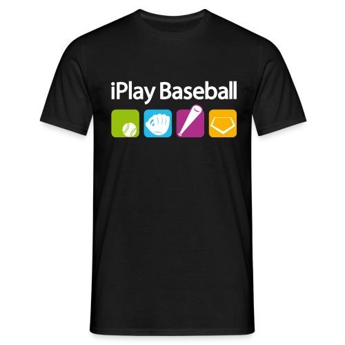 iPlay Baseball - Männer T-Shirt