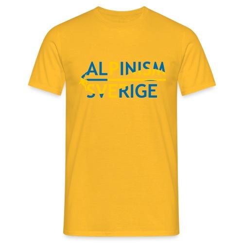 Alpinism Sverige - T-shirt herr