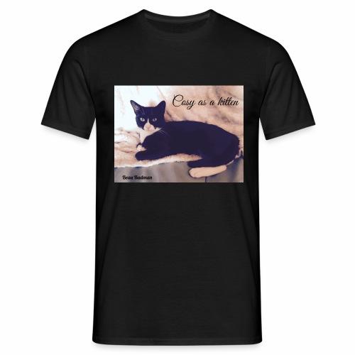 Cosy as a kitten - Men's T-Shirt