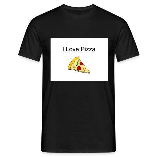 pizza - Männer T-Shirt