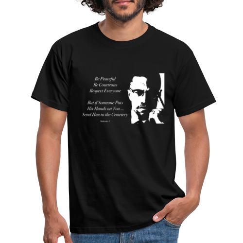 Malcolm X [#1] - Men's T-Shirt