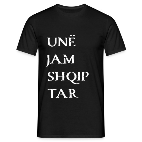 jam shqiptar - Männer T-Shirt