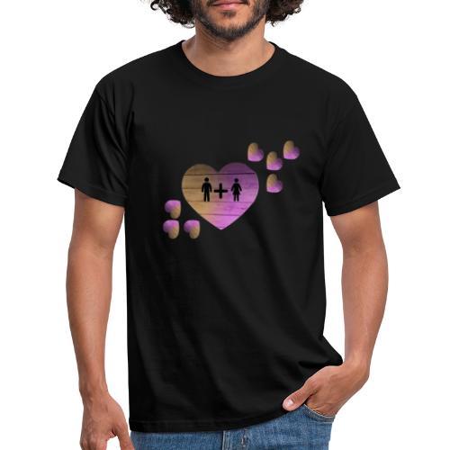 couple amoureux - T-shirt Homme