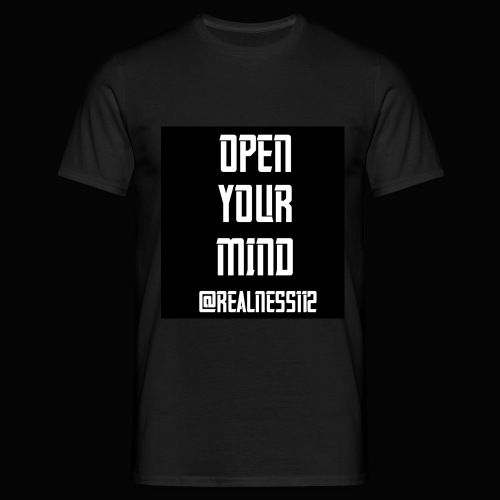 Open Your Mind!! Truth T-Shirts!! #OpenYourMind - Men's T-Shirt